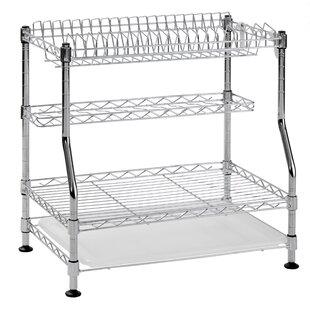Sandusky Cabinets 3-Tier Wire Dish Rack