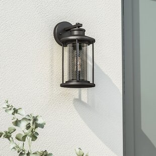 Emery 1-Light Outdoor Wall Lantern by Gracie Oaks #2