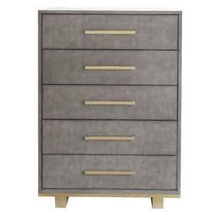 Wrought Studio Nicolas 5 Drawer Chest