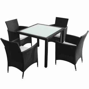 Roan 4 Seater Dining Set With Cushions By Sol 72 Outdoor