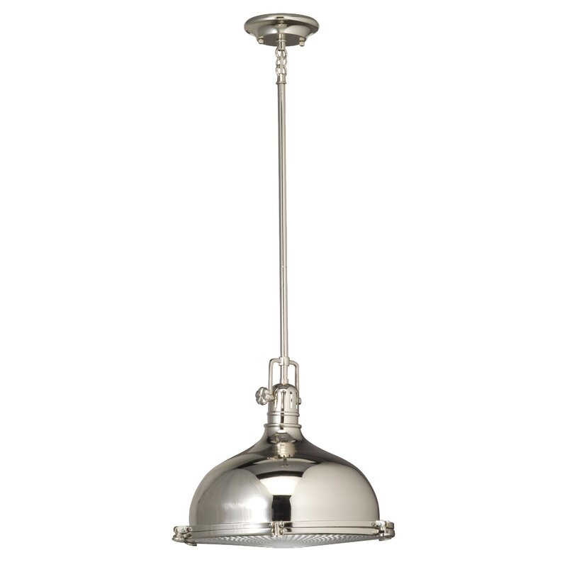 Fresnel 1-Light Pendant