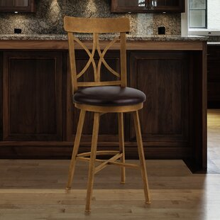 Clark 30 Swivel Bar Stool by Fleur De Lis Living
