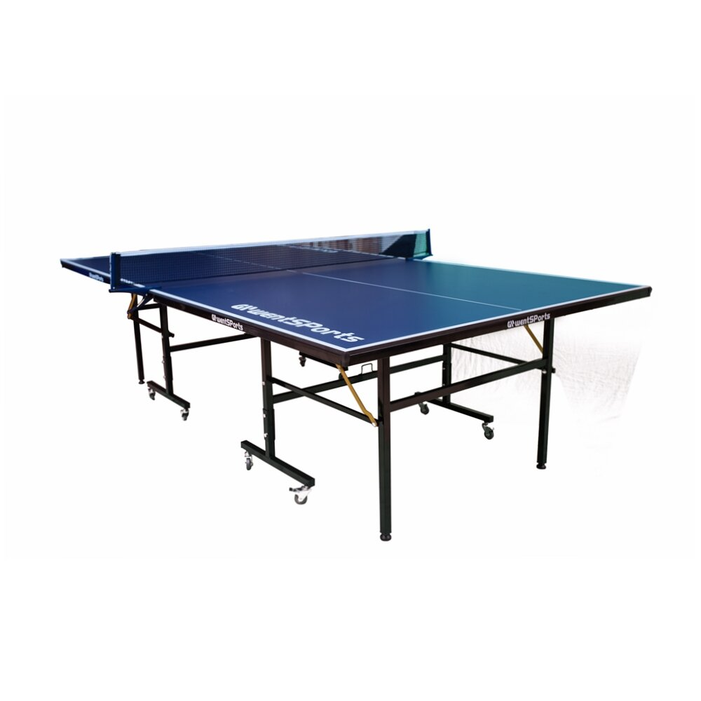 Toyuson Regulation Size Foldable Indoor Table Tennis Table With Paddles And Balls 76mm Thick Wayfair