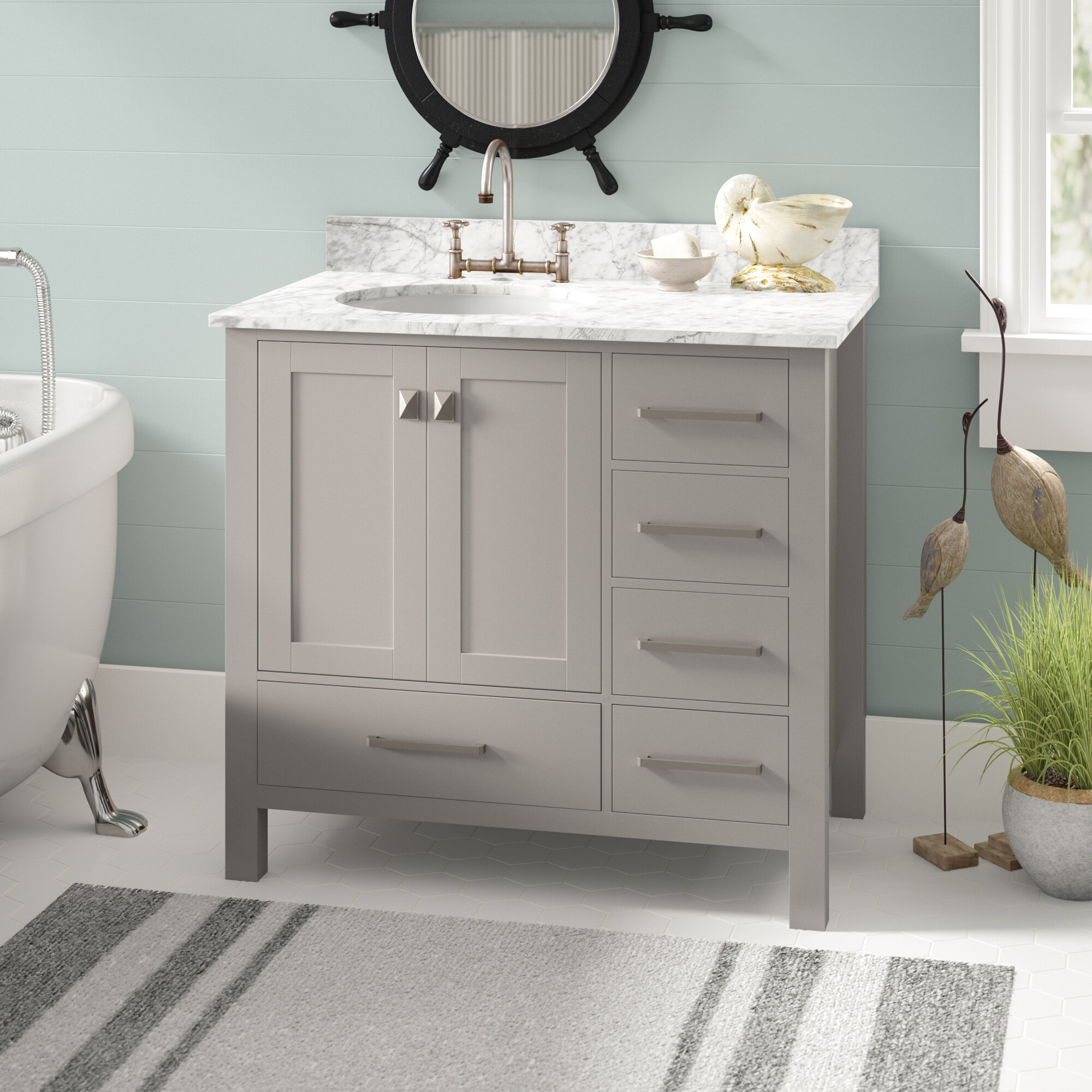 27 Inch Bathroom Vanity Wayfair