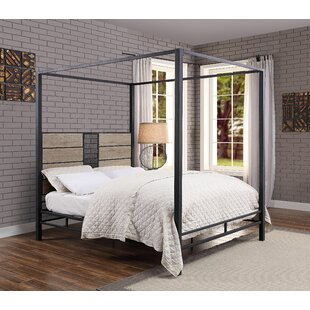 Boose Queen Canopy Bed by Williston Forge