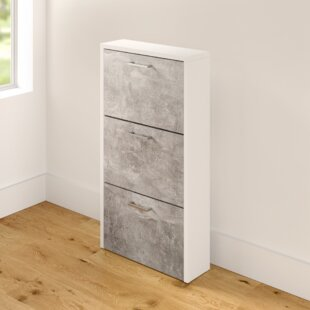 18 Pair Shoe Storage Cabinet By Zipcode Design