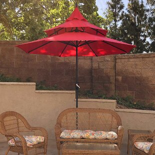 Highland Dunes Bookout 9' Market Umbrella