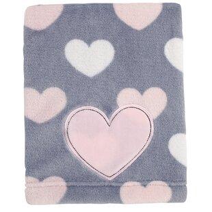 Best Reviews Sveta Print Coral Fleece Blanket ByHarriet Bee