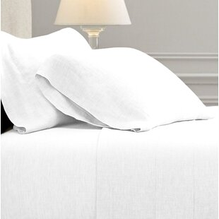 Reviews Fleta Vintage Washed Portugal 100% Linen Sheet Set By Gracie Oaks