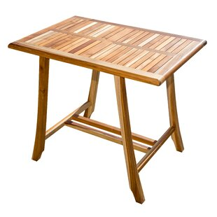 Satori Solid Wood Dining Table by EcoDecors