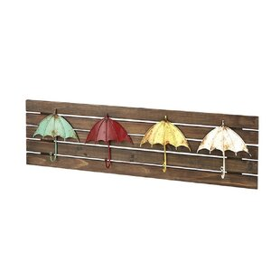 Boylan Wall Mounted Coat Rack By Brambly Cottage