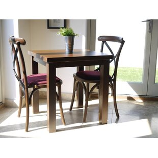 Review Celia Dining Set With 2 Chairs (Set Of 3)