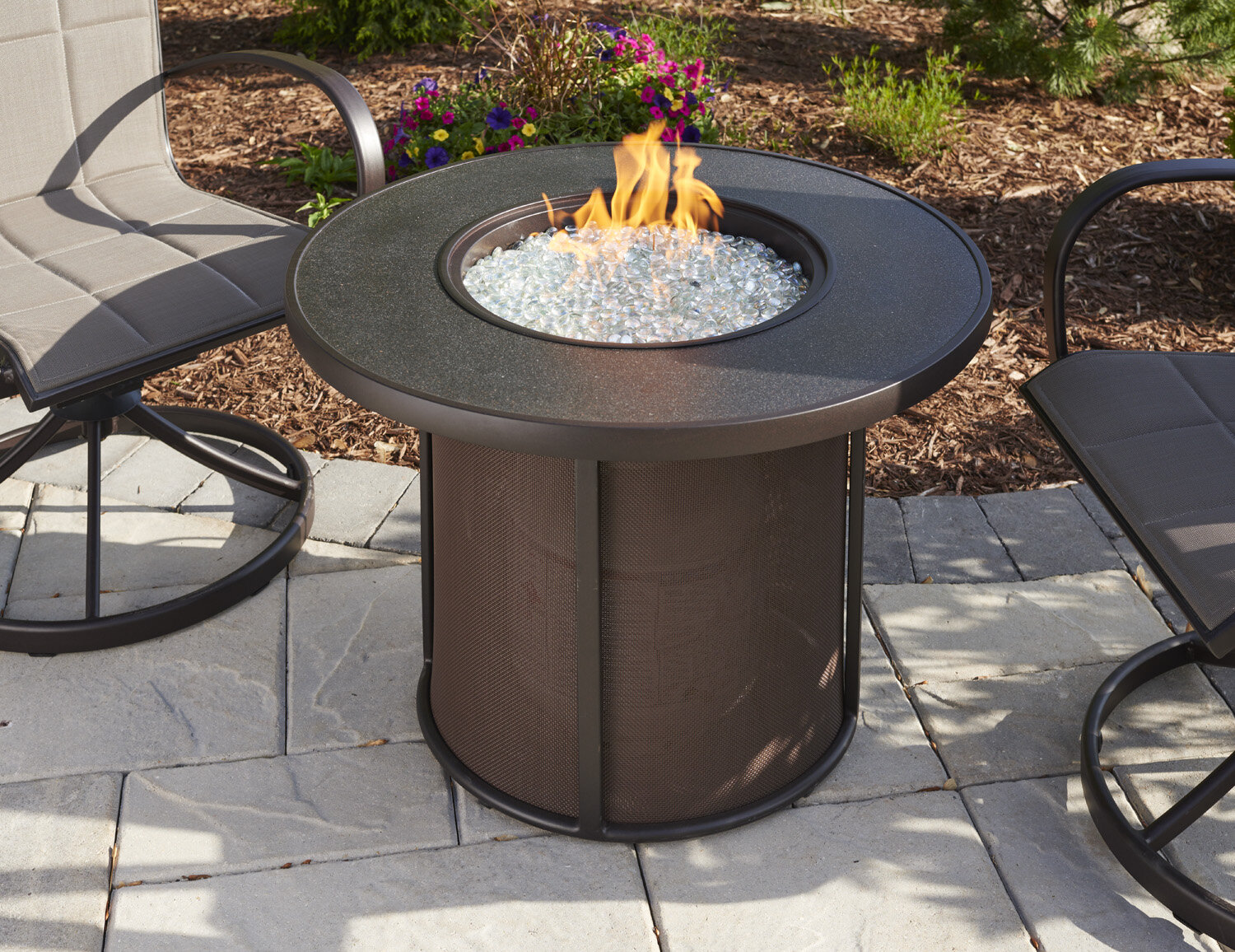Stonefire Aluminum Propane/Natural Gas Fire Pit Table