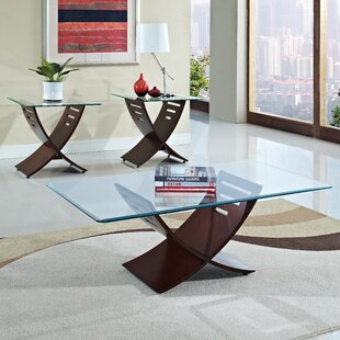 Carterville 3 Piece Coffee Table Set by Orren Ellis