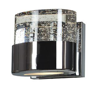 Orren Ellis Enock 1-Light LED Bath Sconce