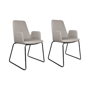 Keeter Upholstered Dining Chair (Set Of 2) By Mercury Row