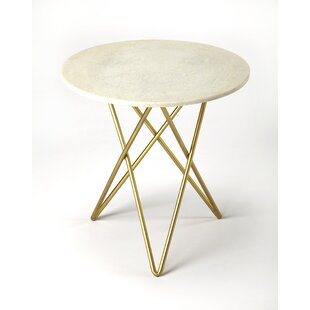 Online Reviews Araujo End Table by Everly Quinn