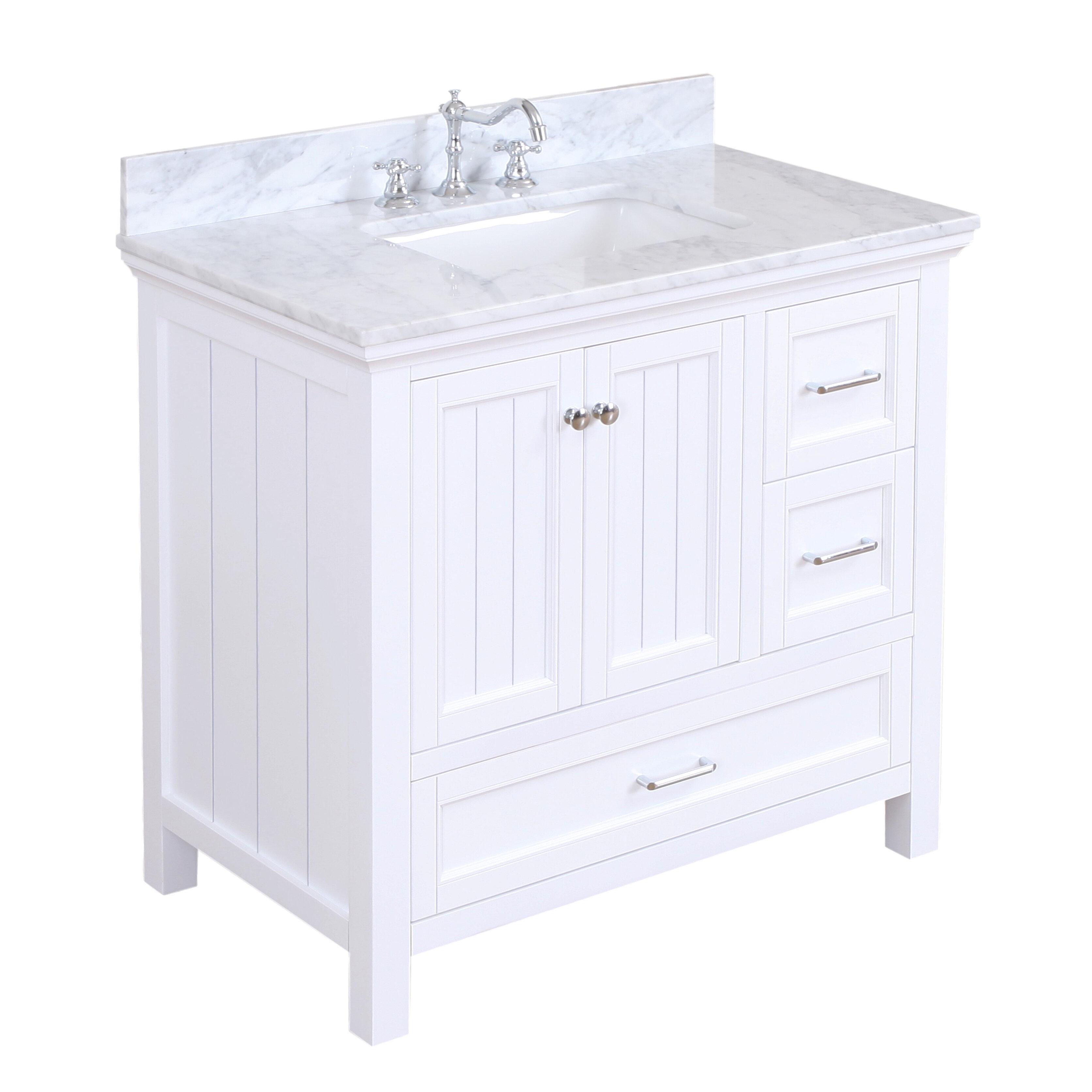 Charlton Home Kituku 36 Single Bathroom Vanity Set Reviews
