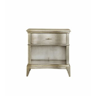 Buy clear Stanmore Open 1 Drawer Nightstand by Rosdorf Park