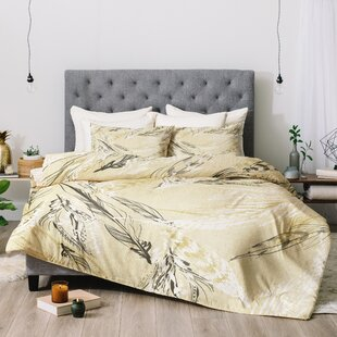 East Urban Home Pattern State Feather Comforter Set
