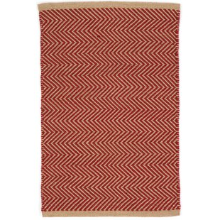 Arlington Hand-Woven Red Indoor/Outdoor Area Rug
