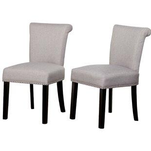 Mercer41 Hubler Upholstered Dining Chair (Set of 2)