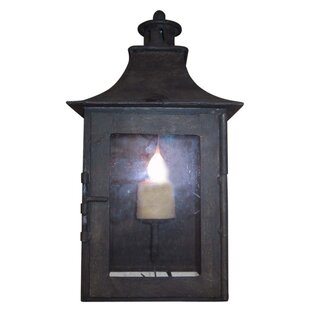 Queenborough 1-Light Outdoor Wall Lantern by Darby Home Co