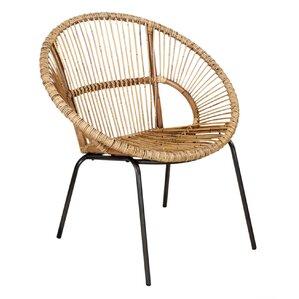 Heathrow Papasan Arm Chair by Bay Isle Home