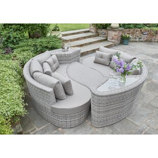 Oakfield  Garden Daybed With Cushions By Sol 72 Outdoor