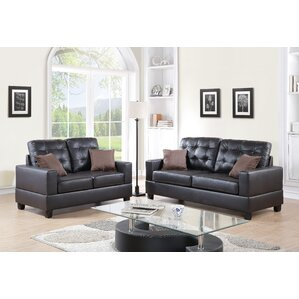 Maria 2 Piece Living Room Set by A&J Homes S..