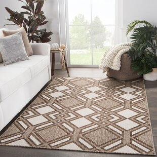 Samba Trellis Brown/Ivory Indoor/Outdoor Area Rug