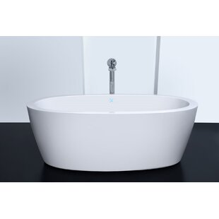 free standing tub with jets. Purescape 63  X 30 Whirlpool Freestanding Bathtub Tub With Air Sets Wayfair