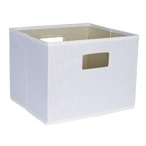 Attractive Deluxe Open Storage Bin With Cutout Handle