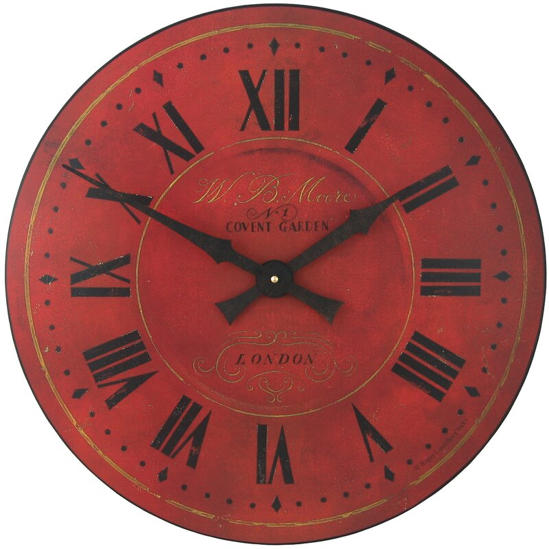 Delicieux Large Covent Garden Wall Clock