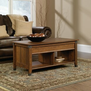Natoma Solid Wood Lift Top 4 Legs Coffee Table With Storage By Foundry Select