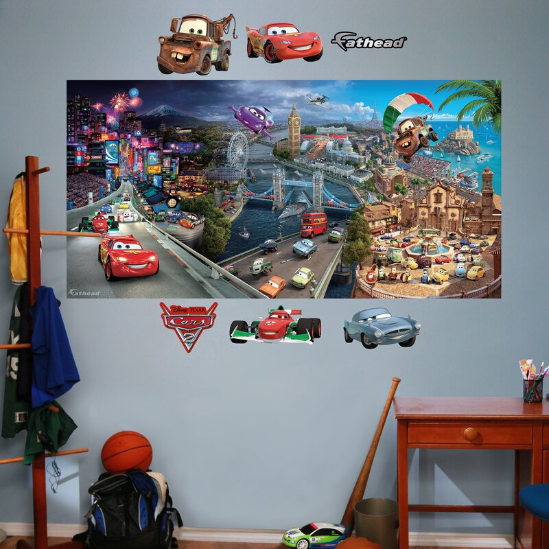 Superieur Disney Cars 2 Wall Decal