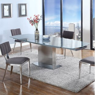 Orren Ellis Johannah Extendable Dining Table
