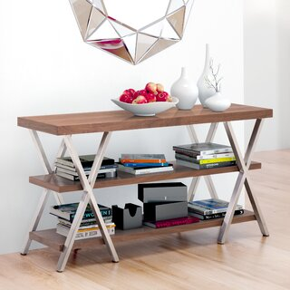 "Ohara 50"" Solid Wood Console Table by Brayden Studio SKU:CD227004 Buy"