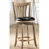 Kaisa Bar & Counter Swivel Stool by Winston Porter