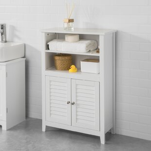 Jersey 60cm X 90cm Free-Standing Bathroom Cabinet By Brambly Cottage