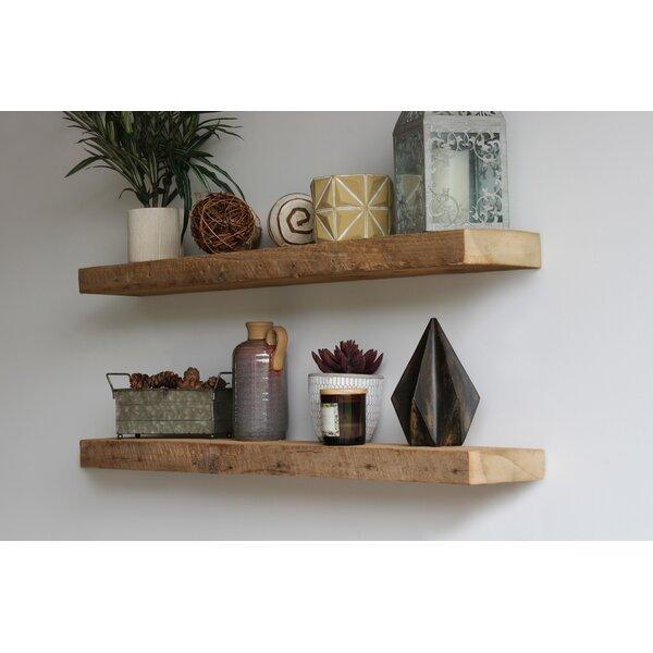 Raw Edge Wood Shelf Wayfair