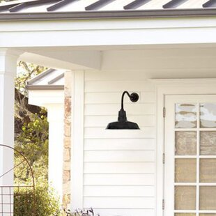 Best Price Oldage 1-Light Outdoor Barn Light By Cocoweb