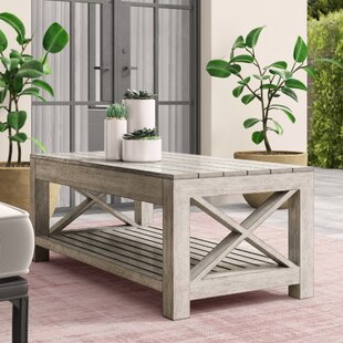 Barden Aluminum Coffee Table