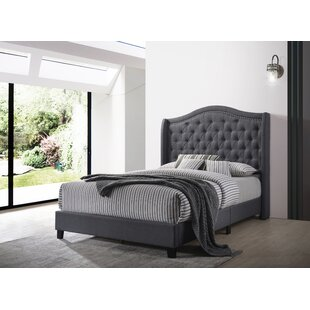 Affordable Lander Upholstered Panel Bed by House of Hampton Reviews (2019) & Buyer's Guide