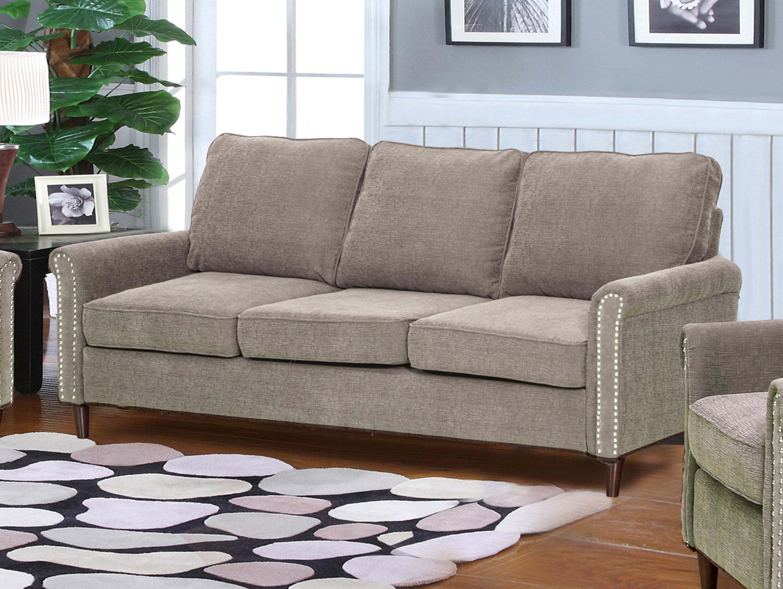 Hayton Fabric Modern Living Room Sofa