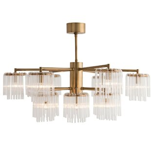 ARTERIORS Home Gretta 12-Light Shaded Chandelier