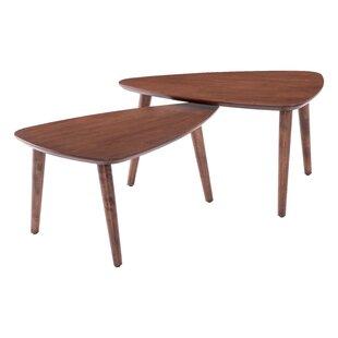 Emmett 2 Piece Coffee Table Set by Corrigan Studio