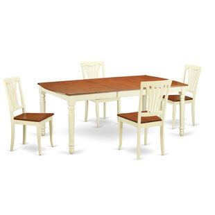 Carmel 5 Piece Dining Set August Grove