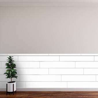 Corrigan Studio Eoin 20 X 20 Wall Paneling In White Wood Wayfair