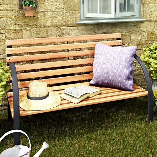 Gartenbank Molen aus Stahl | Garten > Gartenmöbel | Beige | Garten Living